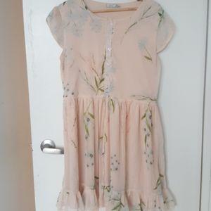 DEX Pastel pink short dress
